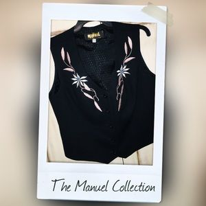 Prestine Manual Collection Embroidered Vest